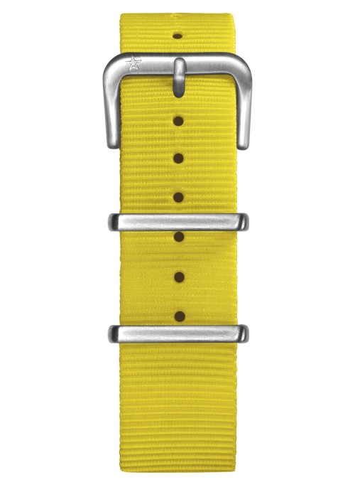 Nato Nylon Jaune 20 mm