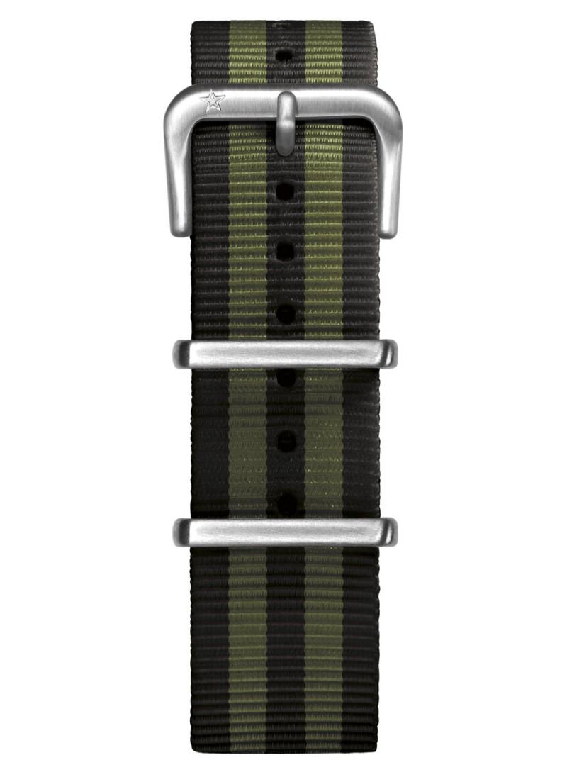 Nato Black / Kaki 20 mm