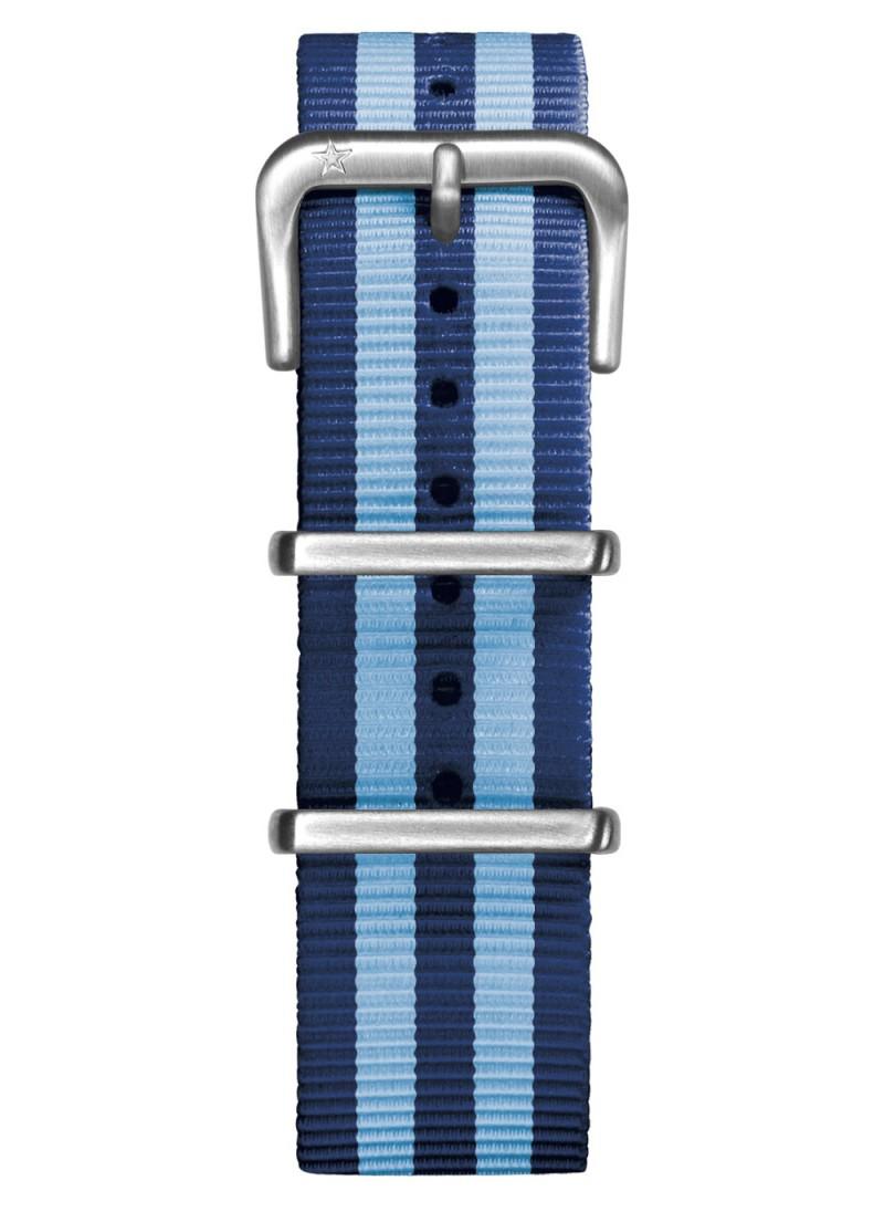 Nato Nylon Blue / Light Blue 20 mm