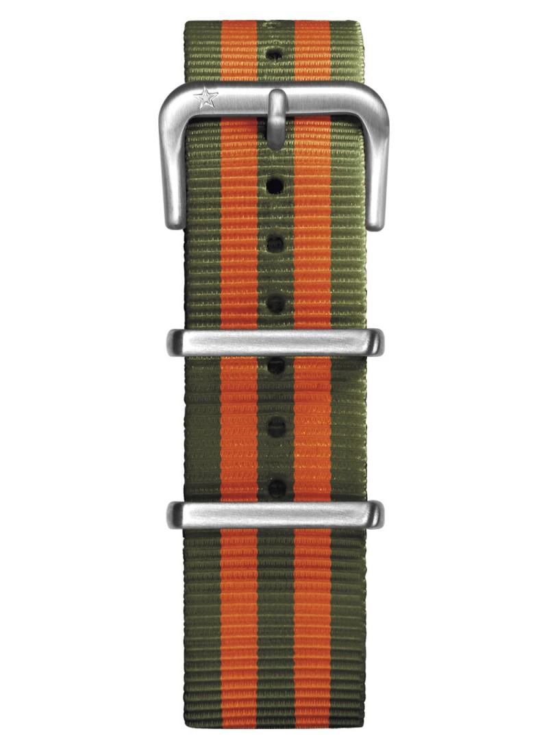 Nato Nylon Kaki / Orange 20 mm