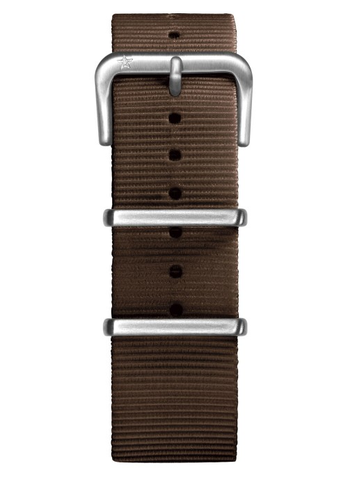 Nato Nylon Marron 22 mm
