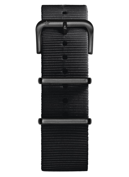 Nato Nylon Black 22 mm