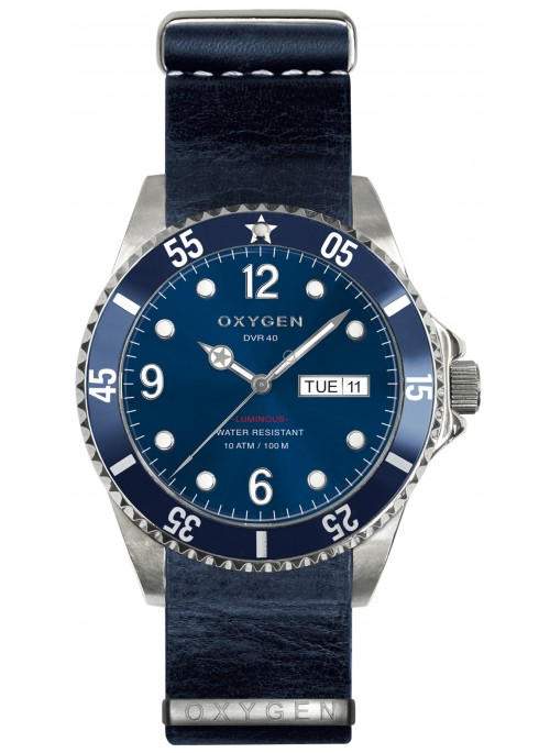 Diver 40 Atlantic Navy Strap
