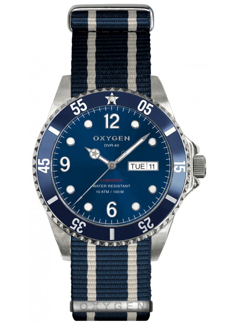 Diver 40 Atlantic Bracelet Marine Ivoire Marine