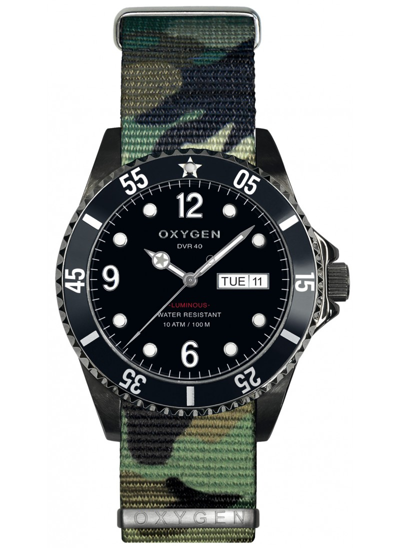 Diver 40 Moby Dick Army strap