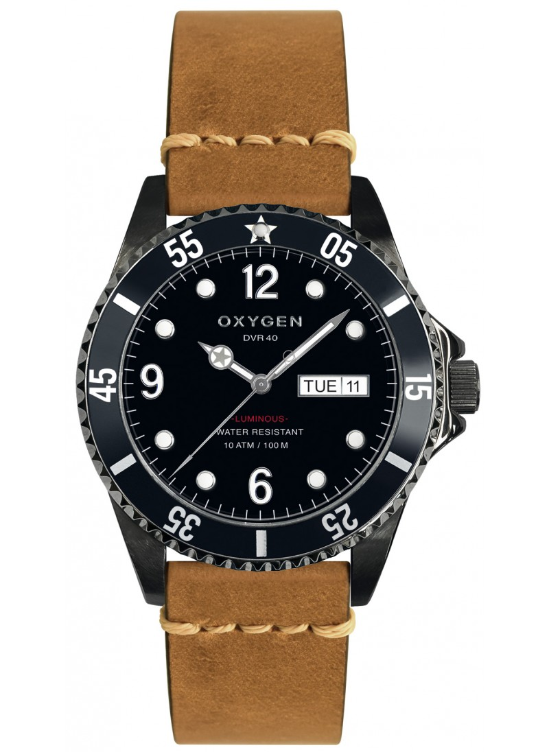 Diver 40 Moby Dick Light Brown Strap