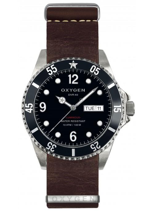 Diver 40 Moby Dick Bracelet Marron Foncé