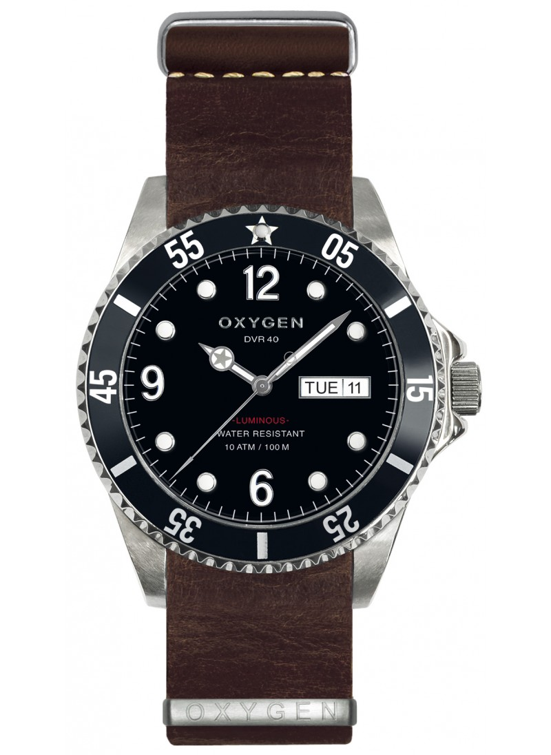 Diver 40 Moby Dick Dark Brown Strap