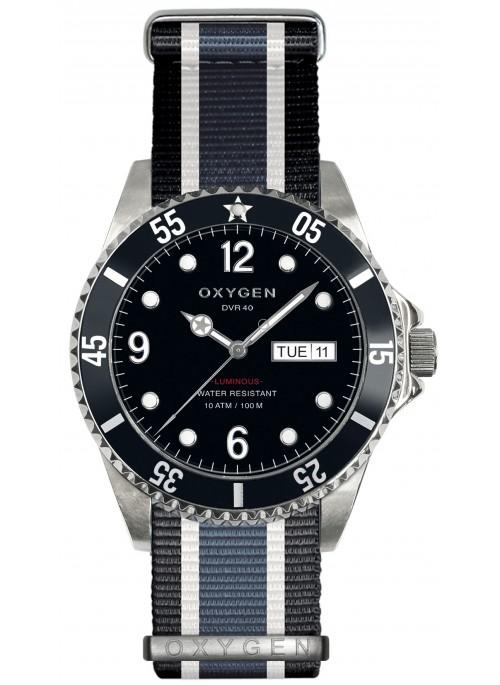 Diver 40 Moby Dick Bracelet Noir Ivoire Jean