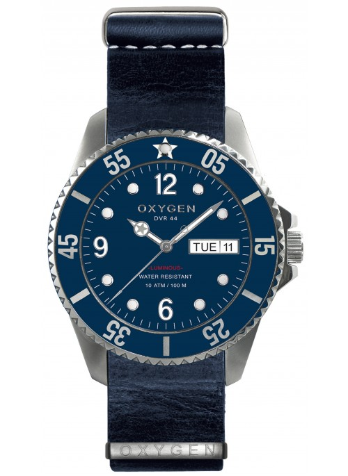 Diver 44 Admiral Navy Strap