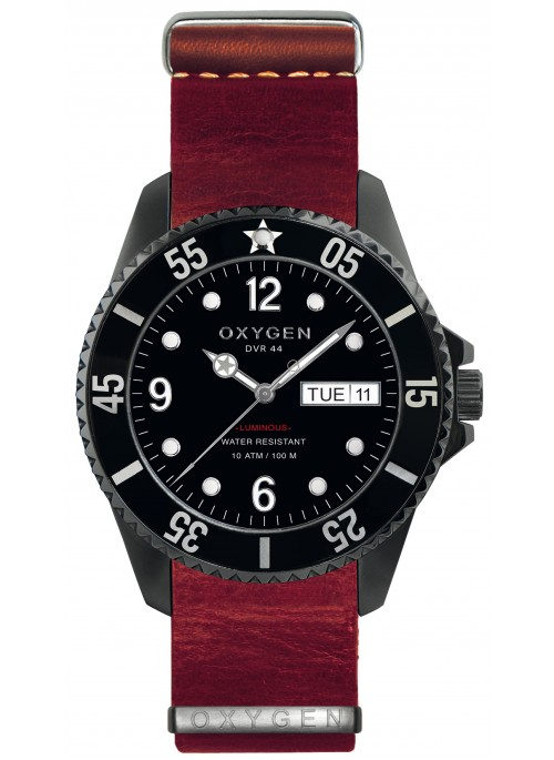 Diver 44 Moby Dick Red Strap