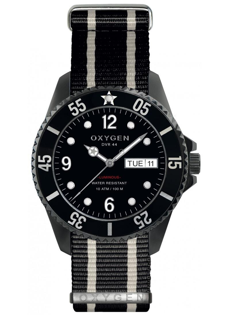 Diver 44 Moby Dick Bracelet Noir Ivoire Noir