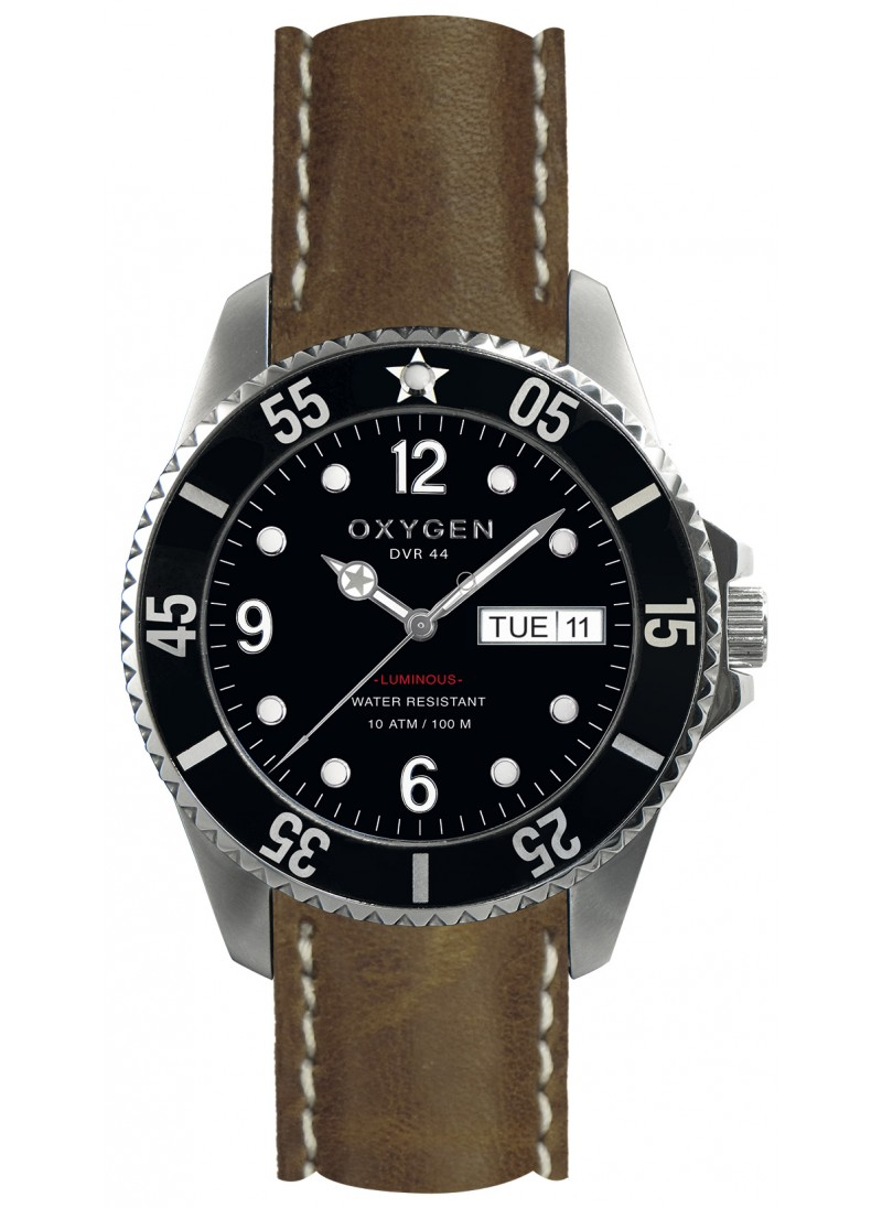 Diver 44 Moby Dick Dark Brown Strap