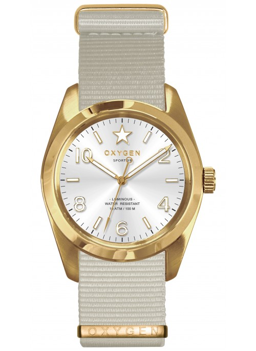 Sport 38 Nugget Ivory Strap