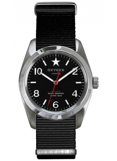 Sport 38 Washington Black Strap