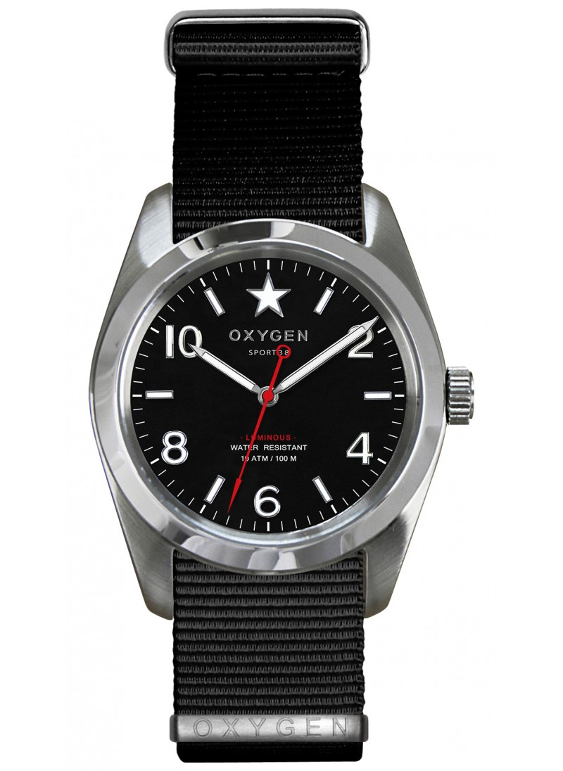 Sport 38 Washington Bracelet Noir