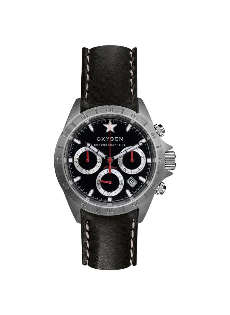 Chrono Sprint 42 Bracelet Noir
