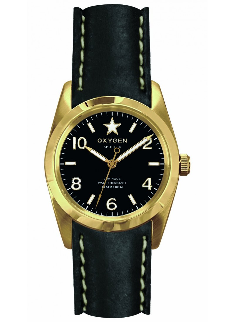 Sport 34 Lingot Bracelet Noir