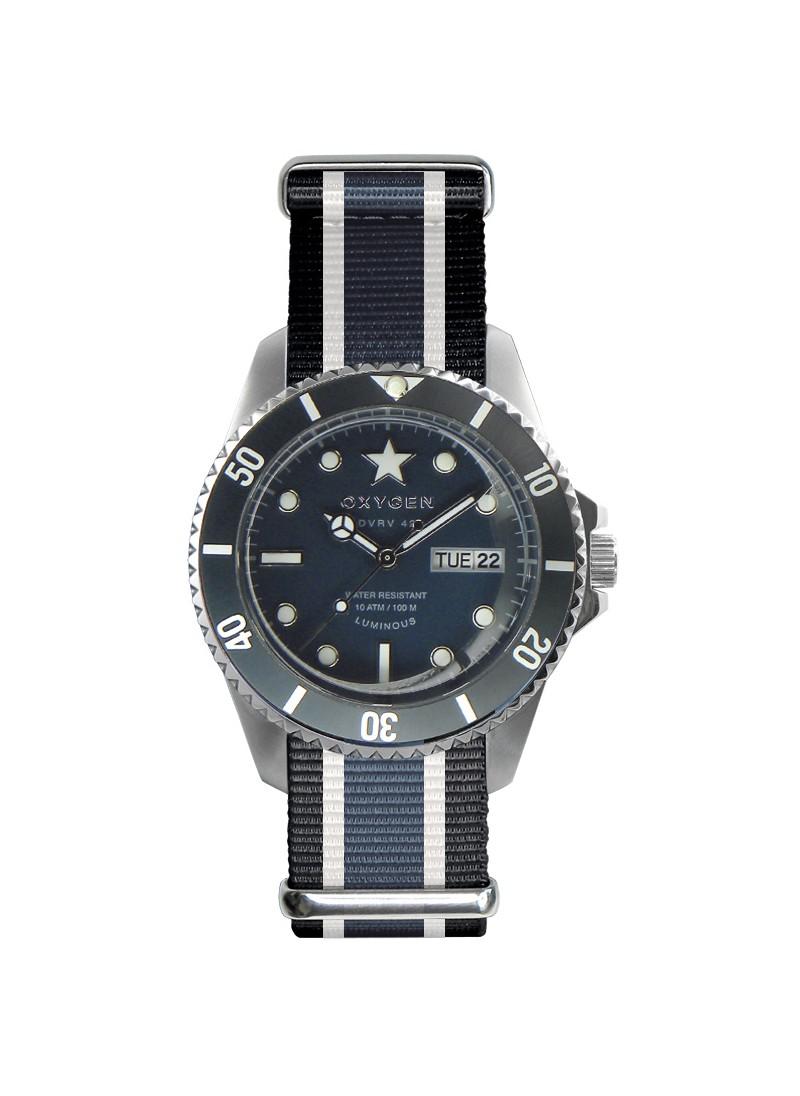 Diver Vintage 42 Bracelet Noir Ivoire Jean