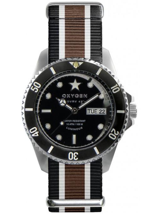 Diver Vintage 42 Cigar Bracelet Noir Ivoire Marron
