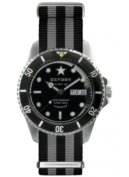 Diver Vintage 42 Cigar Black Ivory Black Strap