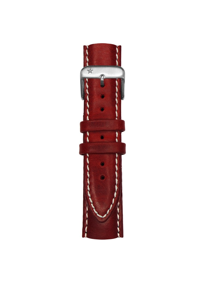 Classic Leather Red 20 mm