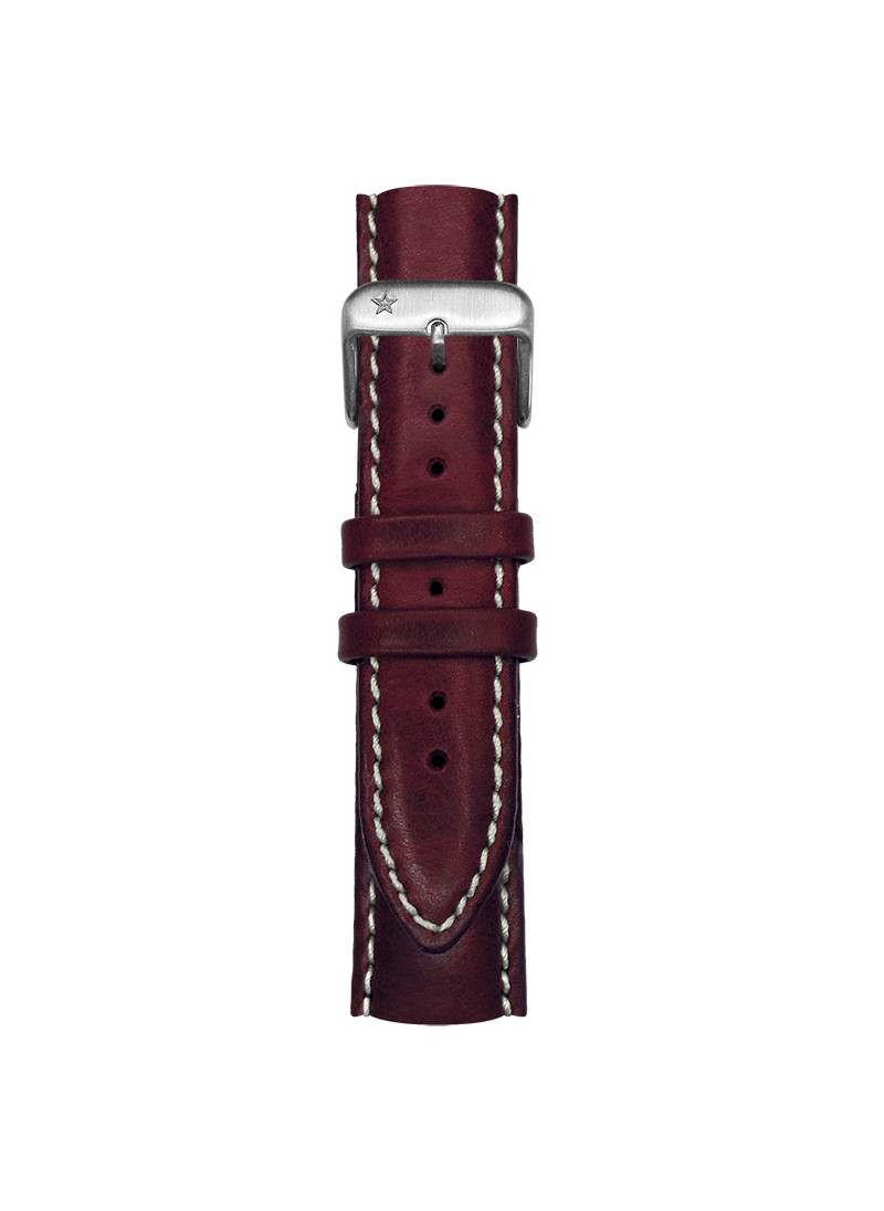 Classic Leather Plum 20 mm