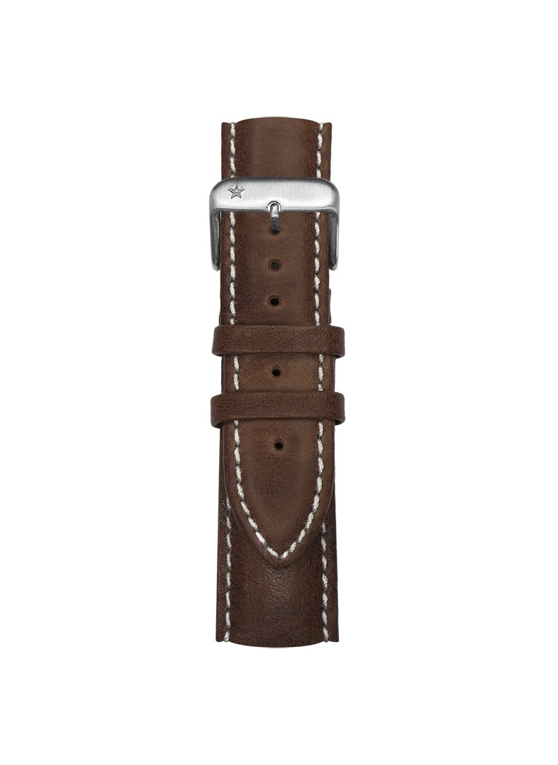 Classic Leather Dark Brown 22 mm