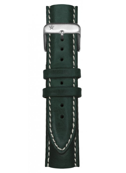 Classic Leather Green 20 mm