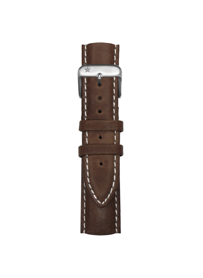 Classic Leather Dark Brown 20 mm