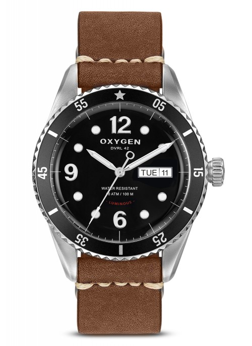 Automatic Diver 42 mm Black Nato Nylon Strap