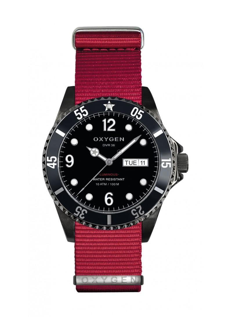 Diver 36 Moby Dick Bracelet Rouge