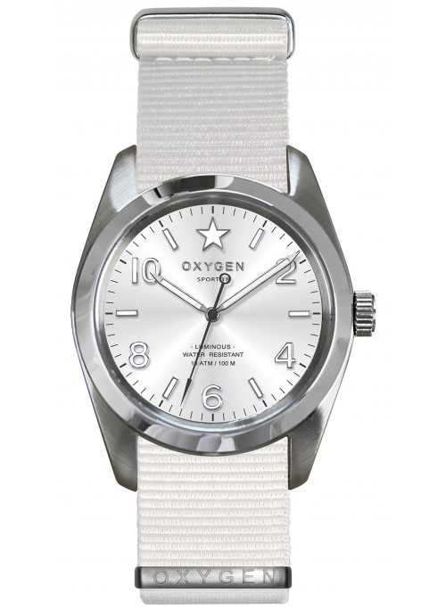 Sport 38 Paris White Strap