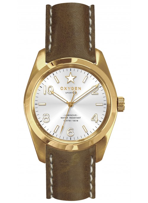 Sport 38 Nugget Light Brown Strap