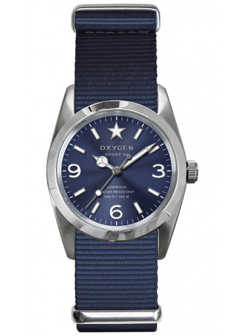 Sport 34 Boston Blue Strap