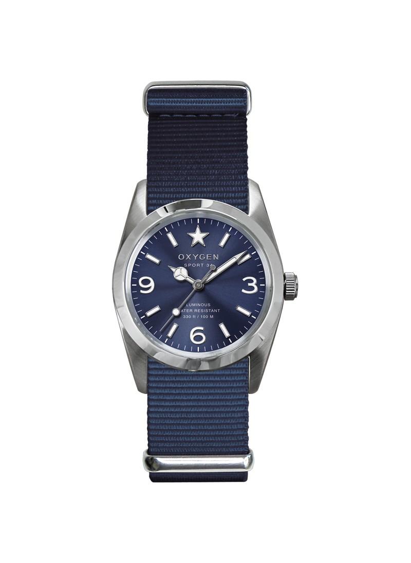 Sport 34 Boston Bracelet Bleu