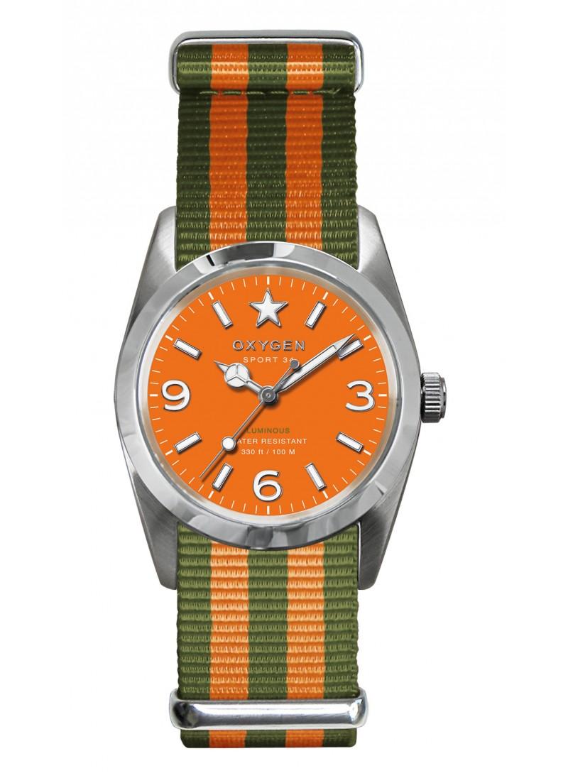 Sport 34 Orange Bracelet Kaki Orange